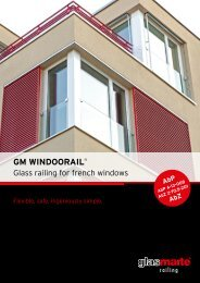 GM WINDOORAIL – Product Report