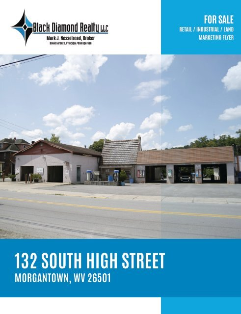 132 South High Street Marketing Flyer