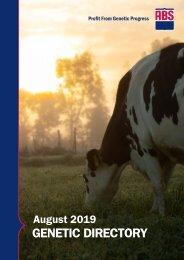 EMEA Genetic Directory August 2019