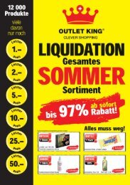 Outlet King Zeitung August 2019