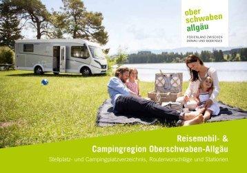 Reisemobil- und Campingregion Oberschwaben-Allgäu 2019-2021