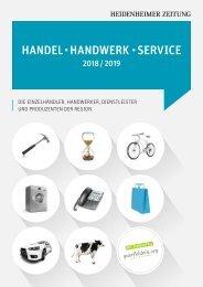 Handel - Handwerk - Service