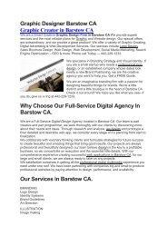 Aku Graphic Designer Barstow CA   442-229-1233