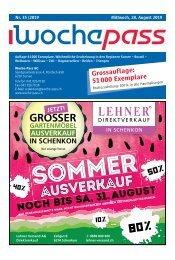 Woche-Pass | KW 35 | 28. August 2019
