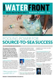 World Water Week Daily - Wednesday 28 August, 2019
