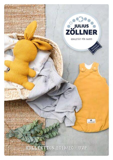 Julius Zöllner Babyschlafsack Cosy 2 teilig Gr 56//62 Dots grau NEU