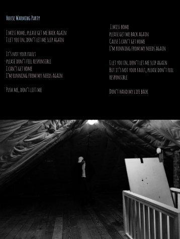 lyric slideshow