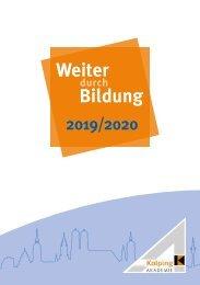 Kolping-Akademie München Programmheft 2019/20