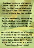 Condos For Sale In Miami-Joinbuyerslist.com - Page 3