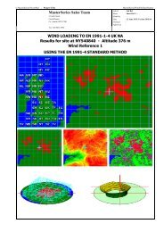 MasterSeries Wind Site Analysis Sample Output