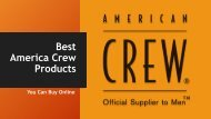 Best American Crew Products You Can Buy Online