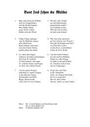 Bunt sind schon die Wälder Text.pdf - Hausmusik