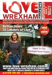 Love Wrexham Magazine - Issue 3 - September 2019