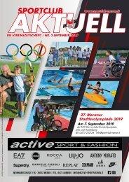 Sportclub Aktuell - Ausgabe September 2019