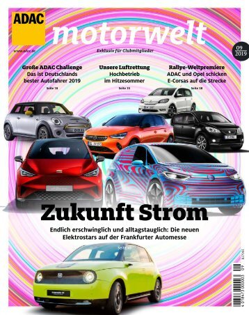 ADAC Motorwelt September 2019