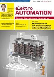elektro AUTOMATION 07-08.2019