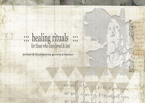 healing rituals for those who have lost a loved one