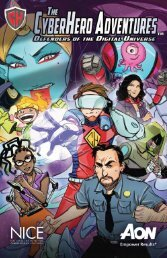 The CyberHero Adventures: Defenders of the Digital Universe!
