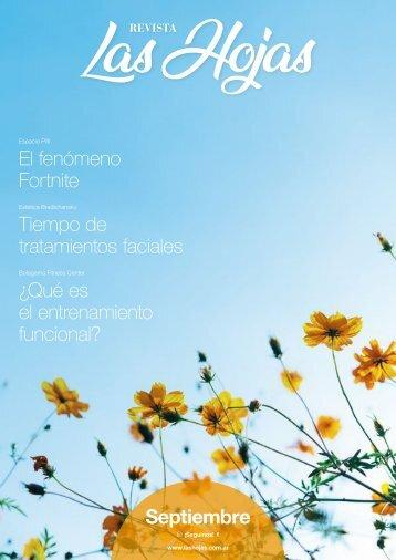 Revista Las Hojas Septiembre