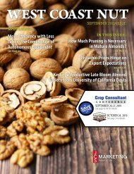 West Coast Nut September 2019