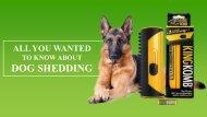 Why Should You Use a Dog De-Shedder to Handle Dog Shedding