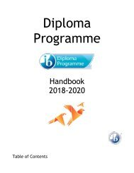 ISE IB Diploma Programme Handbook (rev August 2019)