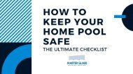 How to Keep Your Home Pool Safe | The Ultimate Checklist