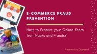 How to Protect your Online Store from Hacks and Frauds?