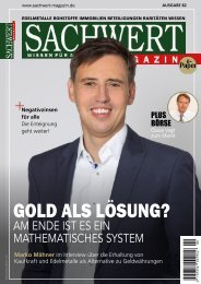 Sachwert Magazin ePaper, Ausgabe 82