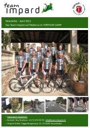 Newsletter - April 2011 Das Team Impard auf Mallorca im ...