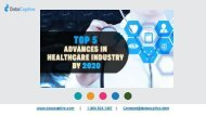 TOP 5 ADVANCES IN HEALTHCARE INDUSTRY BY 2020