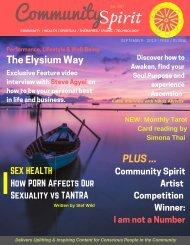 Community Spirit eZine - September 2019