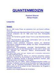 QUANTENMEDIZIN - Dr. Norbert Maurer