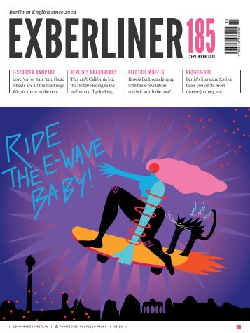 Exberliner issue 185, September 2019