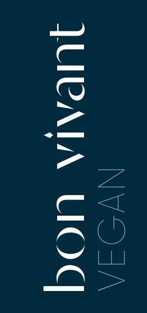 Bon Vivant Menu Vegan FIN/SWE/ENG 12.9.2019-9.1.2020
