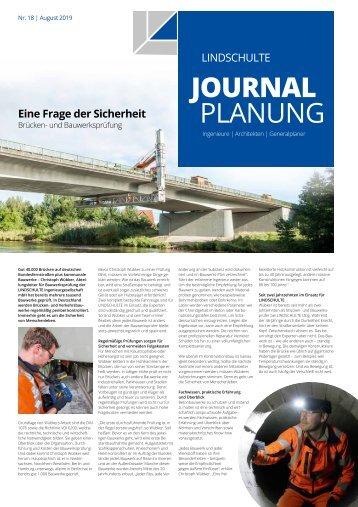 "LINDSCHULTE-Kundenzeitung ""Journal Planung"" 18/2019"