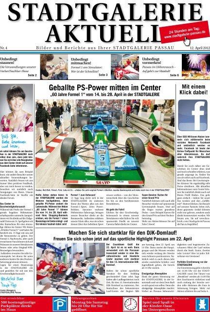 Geballte PS-Power mitten im Center - Stadtgalerie Passau
