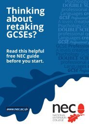 Thinking about retaking GCSEs?