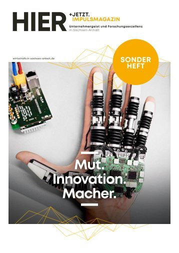 HIER+JETZT. Impulsmagazin // Sonderheft 2019