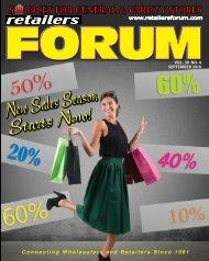 Retailers Forum Magazine - Sept. 2019 E-Mag