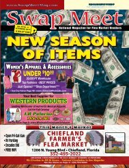 Swap Meet Magazine - Sept. 2019 E-Mag