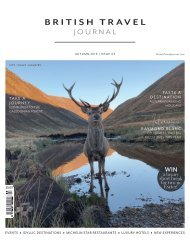 British Travel Journal | Autumn 19