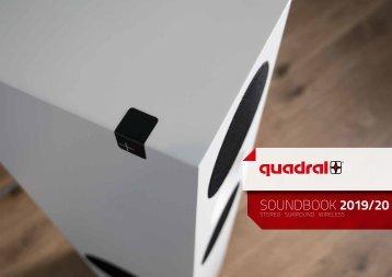 quadral Soundbook 2019/20