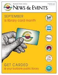 September 2019 Library News & Events