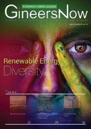 Diversity & Inclusion in Clean Energy Industry: Renewable Green Leaders magazine, Sep2019