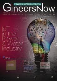 IoT in Utilities - Power and Water Leaders magazine, Sep2019