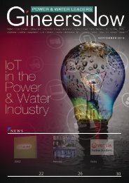 IoT in Utilities - Power and Water Leaders magazine, Sep2019