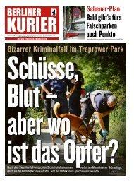 Berliner Kurier 29.08.2019