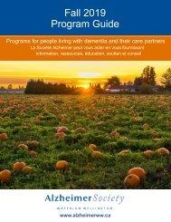 Fall Program Guide 2019
