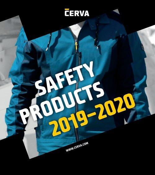 CERVA - Catalog - Echipamente de protectie - 2019-2020 (RO)